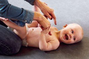 Stimuler dit barns følesans med massage, Børn og motorik