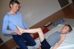 Lene Knudsen - motorisk test af skolebarn