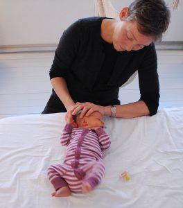 Kranio-sakral terapi for babyer med kolik, søvnbesvær og ammeproblemer